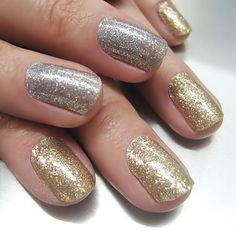 E você pode brilhar como um diamente com este adesivo de glitter. | 13 adesivos ideais para quem tem preguiça de fazer as unhas
