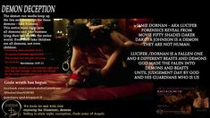Fifty Shades Freed - Lucifer AKA Jamie Dornan demon deception world exclusive Psychopath, Fifty Shades Of Grey, Dakota Johnson, Jamie Dornan