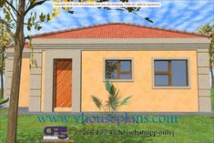 Overall Dimensions- x mBathrooms- 3 Garages- 2 Car Garage Area- Square meters Car Garage, Garage Doors, Tuscan House Plans, Flat Roof House, Building Costs, Detailed Drawings, Home Collections, Bedrooms, Houses