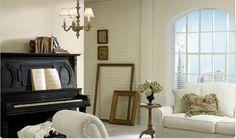 Warm Whites - Living Room