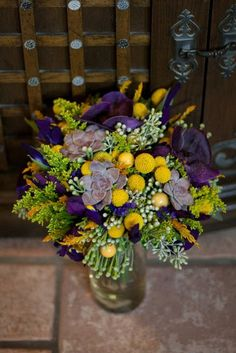 Purple and Gray Wedding | Layers of Lovely – An Inspired Floral Art Studio