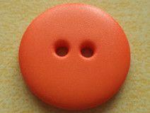 10 Knöpfe orange 18mm (2436-2) Jackenknöpfe Knopf