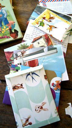 ingthings: Let's make something # 347 (of paper, this time) - envelopes