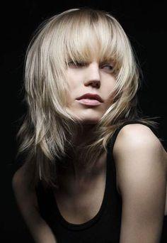 Coupe courte femme cheveux fins   coiffure   Pinterest   Coupé