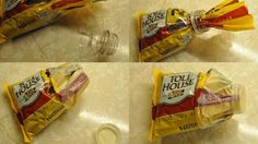 Seal an open bag of snacks with this cool bottle-cap trick. | 19 Totally Ingenious Ways To Use Empty Food And Drink Containers