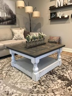 34 Perfect Diy Rustic Coffee Table Design Ideas And Remodel. If you are looking for Diy Rustic Coffee Table Design Ideas And Remodel, You come to the right place. Here are the Diy Rustic Coffee Table. Farmhouse Style Coffee Table, Rustic Farmhouse Table, Rustic Coffee Tables, Diy Coffee Table, Decorating Coffee Tables, Farmhouse Furniture, Rustic Furniture, Antique Furniture, Modern Furniture