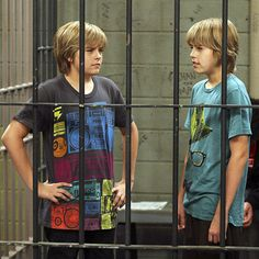"Suite life on deck - season 1 - ""parrot island"" - cole sprouse as cody and dylan sprouse as zackphoto by: dean hendler/disney channel Dylan Sprouse, Sprouse Bros, Jonas Brothers, Disney Channel, Miley Cyrus, Zack Et Cody, Suit Life On Deck, Dylan Y Cole, Old Disney Shows"