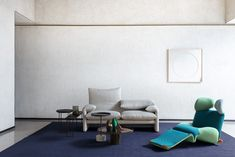 Cassina, one of the world's leading furniture companies, has rejoined Space and its collection of the world's leading contemporary design brands. Space Furniture, Furniture Companies, Life Is Beautiful, Colorful Interiors, Floor Chair, Contemporary Design, Branding Design, Sofa, Interior Design