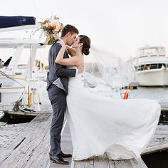 Dreamy Chesapeake Bay Wedding: The Couple