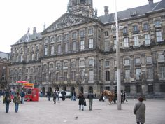 Love Amsterdam! Royal Palace, Amsterdam, Dutch, Louvre, Street View, Europe, Spaces, Building, Travel