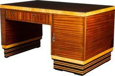 Shop desks and other antique and modern storage pieces from the world's best furniture dealers. Art Deco Desk, Art Deco Furniture, Cool Furniture, Art Et Architecture, Bauhaus Art, Antique Desk, Creative Portfolio, True Art, Creative People