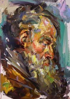 'Old boy (after Rubens)' by Paul Wright