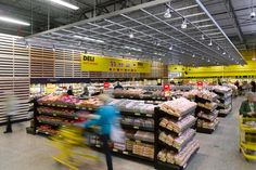 Supermarket Design | Hypermarket Design | Retail Design | Shop Interiors | No Frills