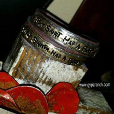 Every Saint Has A Past Wrap Bracelet WWW.GYPZRANCH.COM