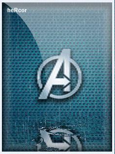 Animación the avengers logo hc para celular