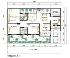 28 Best Ideas For House Layout 2 Story Modern Small Modern House Plans, My House Plans, House Floor Plans, Layouts Casa, House Layouts, Small House Layout, Art Deco Borders, Art Deco Hotel, Craftsman Floor Plans
