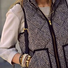 The Oh So Popular Herringbone Vests are back and are an absolute must have for  Fall and Winter! This is a lightweight vest that features a printed ... 7a459fe3b68a