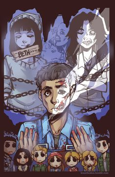 Until Dawn - Art done by KrazyD on DeviantArt :)