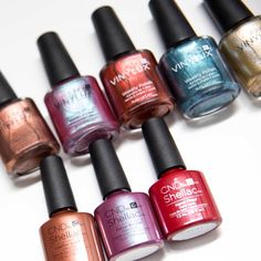 Let the rich nail polish colors of the CND Craft Culture Collection inspire your next nail design.