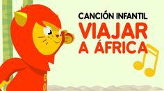♫ VIAJAR A ÁFRICA ♫ Dibujos para bebés - NENE LEÓN