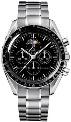 My next watch is this one specifically!  The Omega Speedmaster moonwatch.  Black face with day/night dial.