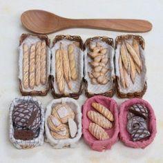 Bakery, Miniature Food Sculptures, Stéphanie Kilgast