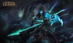 Kalista for League of Legends , Chengwei Pan on ArtStation at https://www.artstation.com/artwork/Alzke