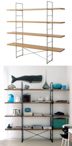 Transform an IKEA Bookshelf | 28 Functional And Beautiful Ways To Decorate With Contact Paper