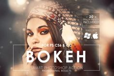 Bokeh Photoshop Action by ArtistMef on Creative Market