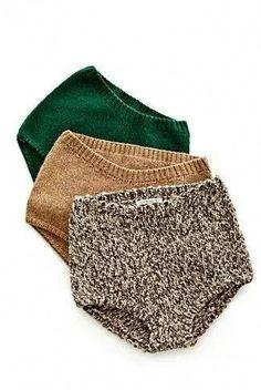 warme gestrickte Unterhosen