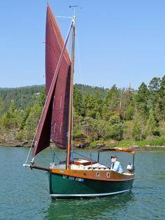 PocketShip: 15-foot Fast-Sailing Pocket Cruiser with Sitting Headroom and