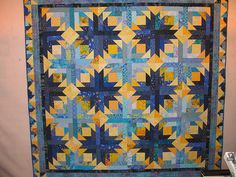 PINEAPPLE BLOSSOM QUILT PATTERN - PC