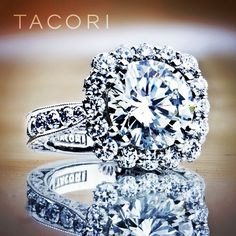 Love this Tacori ring.  #custom #handcrafted #unique #dreamring