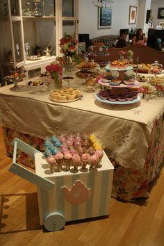 Un primer cumpleaños muy especial: Tea Party