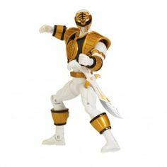 Power Rangers Megaforce Armored Mighty Morphin White Ranger 4