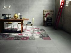 Porcelain stoneware wall tiles / flooring DOCKS by ABK Industrie Ceramiche