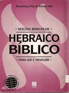"""Cover of """"Noções básicas de Hebraico Bíblico"""""""