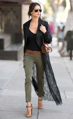 Women Work Outfit Gallery office kimonos for women work style 1 in 2019 Women Work Outfit. Here is Women Work Outfit Gallery for you. Women Work Outfit fashionable work outfits for women 4 business casual. Mode Outfits, Fall Outfits, Casual Outfits, Fashion Outfits, Summer Outfits, Black Top Outfits, Fashion Ideas, Classy Outfits, Fashion Clothes
