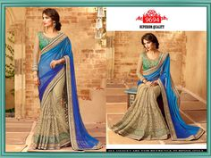 Indian Traditional Partywear DESIGNER Bollywood Sari Wedding Fancy Saree for sale online Bridal Sari, Saree Wedding, Designer Sarees Collection, Saree Collection, Fancy Sarees, Buy Sarees Online, Indian Sarees, Bollywood, Design Inspiration