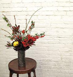 Fall restaurant flowers for Aventine SF.