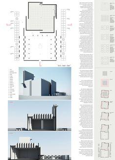 An Idea on Mosque Architecture Mosque Architecture, Architecture Design, Urban, Presentation Design, Business Design, Temple, Building, Case Study, Moroccan