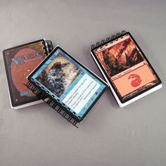 Magic the Gathering Recycled Mini Notebook by StalkingMarla, $2.00