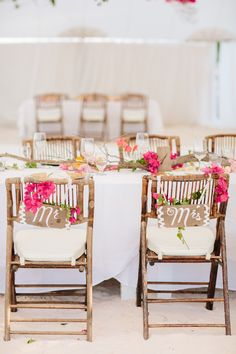 A Colorful Oceanfront Wedding in the Bahamas