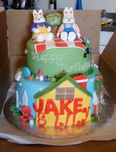 Max and Ruby cake!