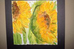 Sunflowers by ArtbyAimeeMann on Etsy