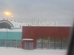 Quick Tour of Ivalo Airport Finlands Northernmost Airport