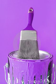painting with hue of purple ...