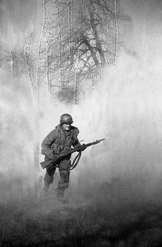 The Last Patrol, Hohenlepte, Germany, 8 May 1945. By Tony Vaccaro.