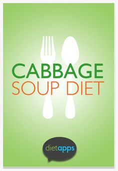For Quick Weight Loss - cabbage soup diet app.   # Pin++ for Pinterest #