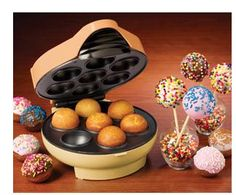 The Nostalgia Electrics JFD-100 Cake Pop & Donut Hole Bakery allows you to cook delicious cake pops, donut holes and other pastries at home without even turning on an oven. Make different flavors of cake pops, jelly donuts, puff pancakes, mini cinnamon buns and more. It's great for snack time, party time or anytime! A handy injector is included to give your donuts a variety of fillings such as jelly, cream or caramel and to decorate your cake pops with colorful frosting. Use your imagination…
